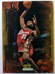 2003-03-04-Upper-Deck-Freshman-Season-Collection-Lebron-James-Rookie-RC-50-CAVS