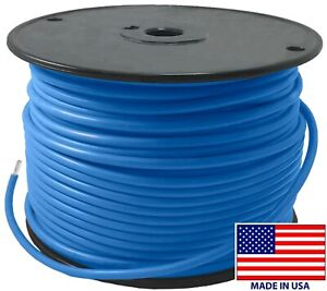 25' FT Light Blue 8 Gauge AWG Tinned Copper Marine Primary Wire Boat - USA MADE