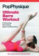 Barre Ballet Toning EXERCISE DVD - Pop Physique ULTIMATE BARRE WORKOUT!