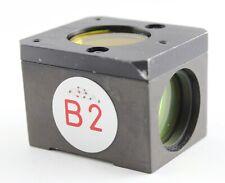 Nikon B2 Blue Fitc Fluorescence Filter Cube Microscope Diaphot Optiphot