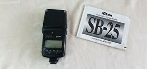 Nikon-LAMPEGGIATORE-SB-25-Flash-Clip-on