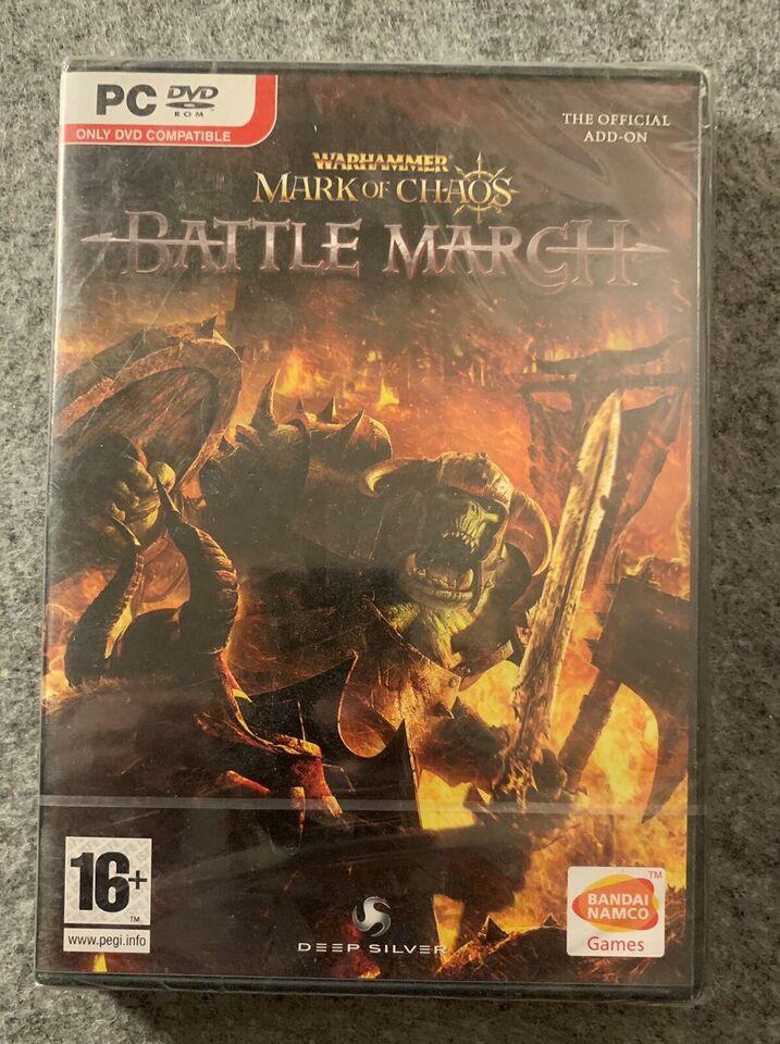 Warhammer Battle March, til pc, realtime strategi