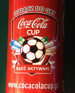COCA COLA CUP CAN - 250ml - POLAND 2014 - football Cup - Gdynia, Polska - COCA COLA CUP CAN - 250ml - POLAND 2014 - football Cup - Gdynia, Polska