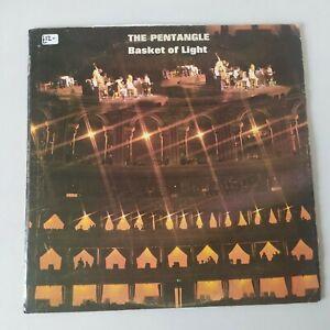 VINYL LP The Pentangle Basket Of Light 1969 Transatlantic TRA 205 VG/VG