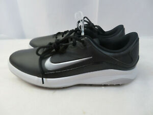 Nike Men S Vapor Golf Shoes Fitsole Size 11 Black Gray Aq2302 001 Cleats Ebay