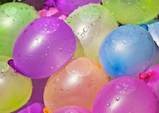 200 Multi Color Splash Water Bombs Balloons Party Bag Fillers Outdoor Garden Fun