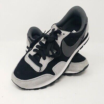 Nike Womens Air Pegasus ID Suede Leather Black Training Shoes Sz 8 ...