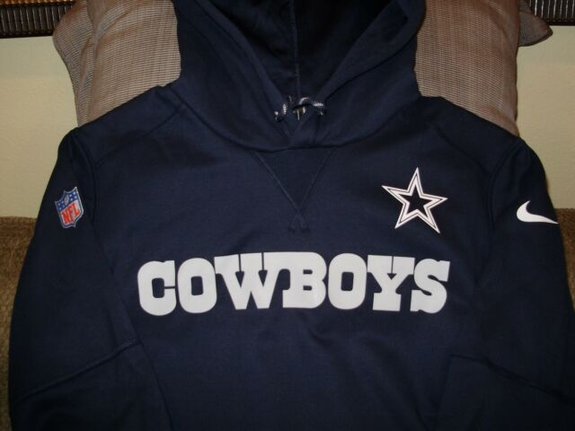 cfe69665055456 NFL Dallas Cowboys Nike Therma-Fit Vapor Speed Pullover Hoodie Jacket Men s  2XL