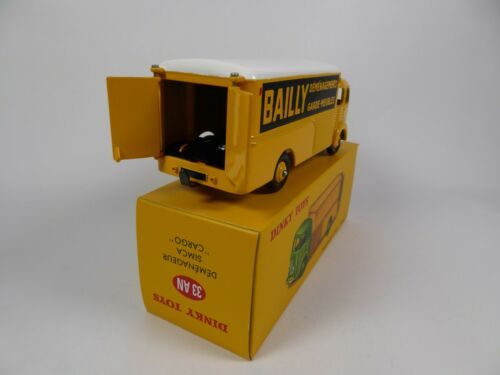 DINKY TOYS Voiture Miniature MB106 Camion Déménageur Simca Cargo Bailly
