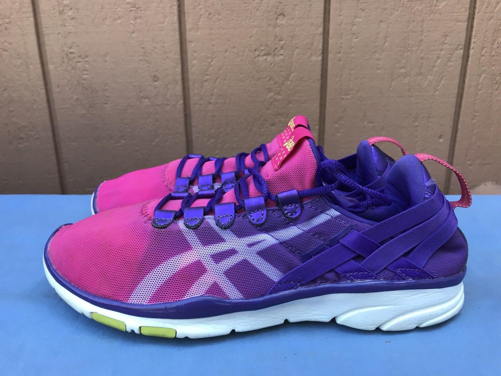 1af8fe50cbe41 Pink 7 Asics Sana Fit Us Shoes Euc Running Gel Women 5 Athletic TwPUqCZ