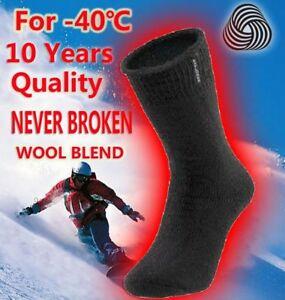 Men Winter Socks Merino Wool Thermal Mens Work Boot Extra Thick Warm Heavy Duty
