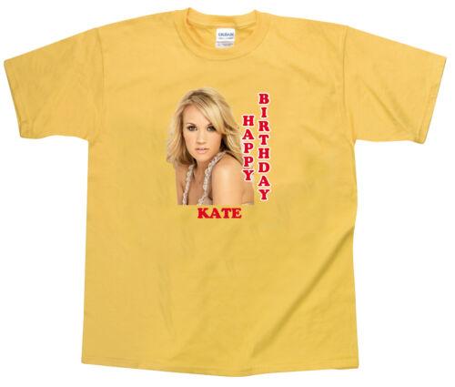 Personalized Custom Carrie Underwood Happy Birthday Shirt Gift