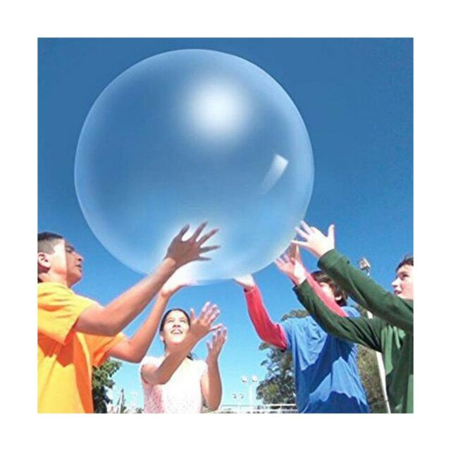 6 Big Latex Balloons Large Transparent Giant Balloons 36-Inch Clear Balloons