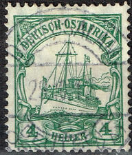 East Africa German Colony rare classic stamp 1910 colonial postmark