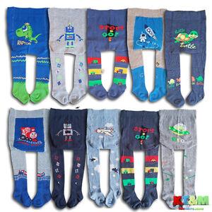 Bebe-nino-chicos-80-Algodon-Pantalones-Suaves-Calzas-calentadores-Calcetines-0-3-anos