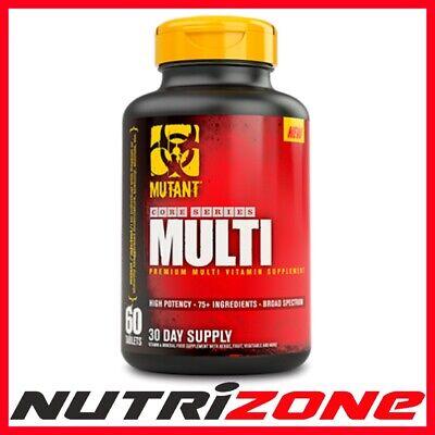 Klug Mutant Core Multi Multivitamin Complex Calcium Magnesium Vit C Zinc Folic Acid