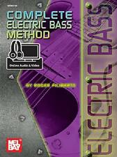 MEL BAY COMPLETE ELECTRIC BASS GUITAR METHOD BOOK