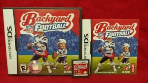 NFL-Backyard-Football-Tom-Brady-Nintendo-DS-DS-Lite-3DS-2DS-Game-Complete