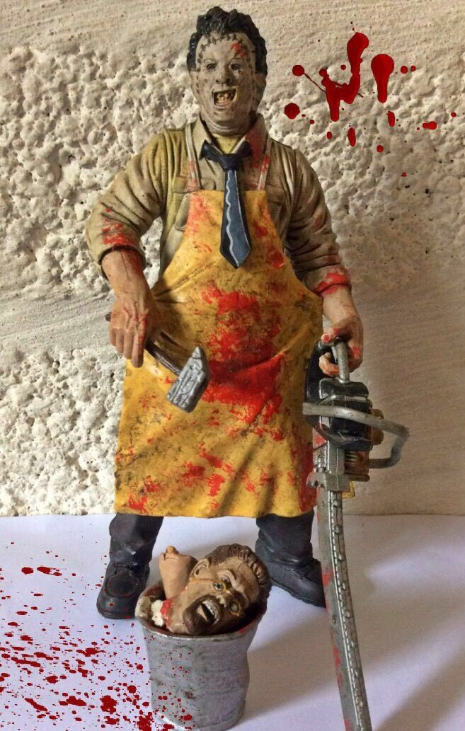Leatherface, The Texas Chainsaw Massacre, McFarlane's Toys, Movie Maniacs