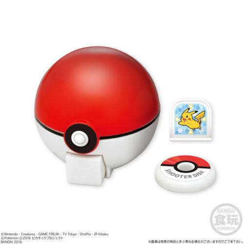 Pokemon Go Action Ball Pikachu XY Z Shokugan  Toy Modeling Kids Play Candy Toy