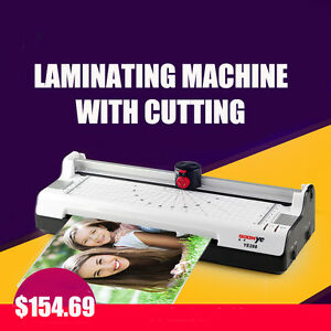220-230V-3-in-1-Laminating-and-Trimmer-Photo-cutter-OLYMPIA-A-240-Combo-Hot-Cold