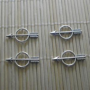 Ladybird 5 x 3D Tibetan Silver Plated Pendants 14mm
