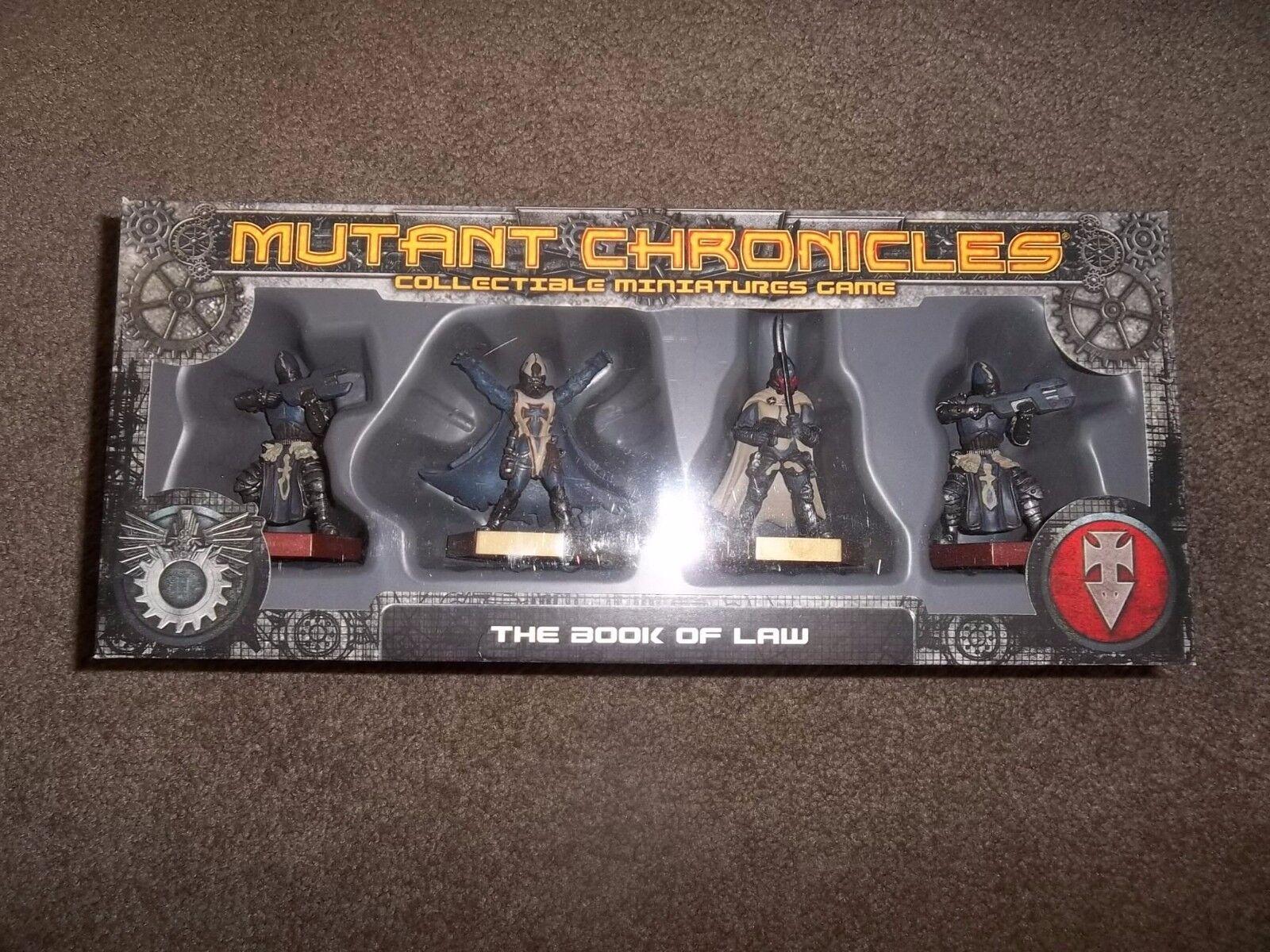 Fantasy Flight Games Mutant Chronicles el libro de la ley