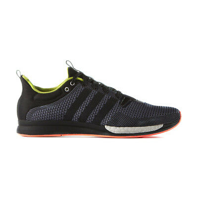 reputable site 17c77 94e2e New Adidas Adizero Feather S79282 Black Blue Running Shoes Men All Sizes NIB