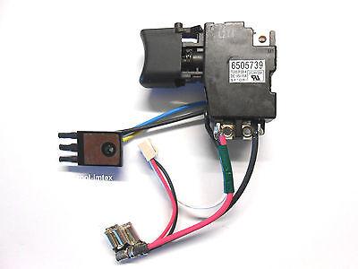Makita Schalter 650573-9 für BDF441 BDF444 BDF451 BDF454