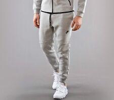 NEW NIKE 545343 066 MEN TECH FLEECE Jogger Sweatpants Pants Heather Grey Sz XL