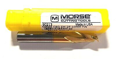 "Morse Carbide Ball End Mill 5//8/"" x 5//8/"" x 3/"" x 6/"" Tin Coated 4 Flute USA Made"