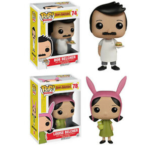 Animation-Bob-039-s-Burgers-Bob-Louise-Belcher-PVC-Figure-With-Box-amp-Pop-Protector