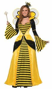 Royal Queen Bee Bumblebee ADULT Womens Costume NEW Standard Size