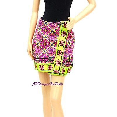 My Scene Barbie Doll Jammin In Giamaica Wrap Minigonna-mostra Il Titolo Originale