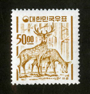Korea-Stamps-367-A-VF-OG-NH