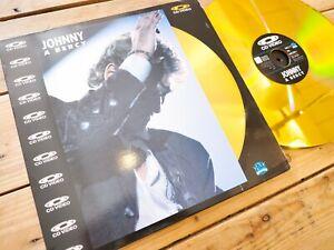 JOHNNY-HALLYDAY-JOHNNY-A-BERCY-LD-PAL-LASERDISC-EX-COVER-EX-ORIGINAL-1988