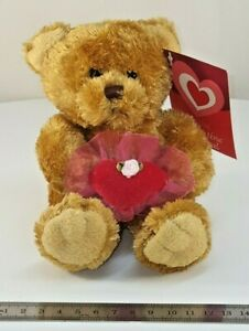 Asda-Valentine-039-s-Day-Teddy-Bear-Plush-Toy-15cm-6-tall