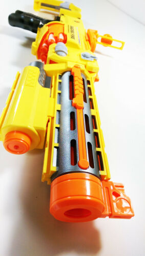 UK FANCY DRESS Photon Storm Semi-Auto Soft Bullet electric Gun 7007 Nerf Style