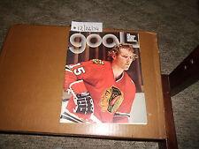 Goal Magazine NHL Hockey 12/26/74 Dick Redmond Chicago Cover Features Buffalo 28