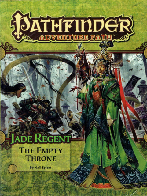Pathfinder #54 Jade Regent The Empty Throne 3.5 Paizo RPG 2012