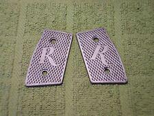 Custom Grip Panels for Remington R51 Metallic Grey