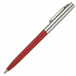Fisher Space Pen Cap-O-Matic Red, Chrome Cap (S251-RED) - 1 Each