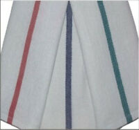 24 15x24 Barber Shop Kitchen Towels Herringbone Blue Stripe 22oz Quick Drying on sale
