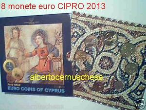 2013 CIPRO 8 monete 3,88 EURO chypre cyprus zypern Κύπρος Kıbrıs キプロス 塞浦路斯