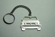 Stainless Steel Laser Cut Car Keychain Keyring Keyfob VW Golf I Best Gift