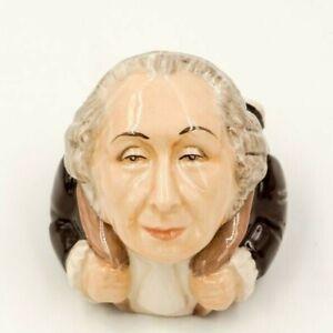 PRESIDENT-GEORGE-WASHINGTON-Ceramic-Face-Pot-by-Kevin-Francis-Revolution-Patriot
