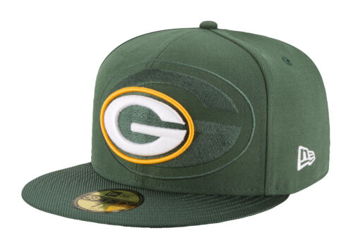 New Era 59Fifty NFL Cap Green Bay Packers 2016 On Field Sideline Fitted Team Hat
