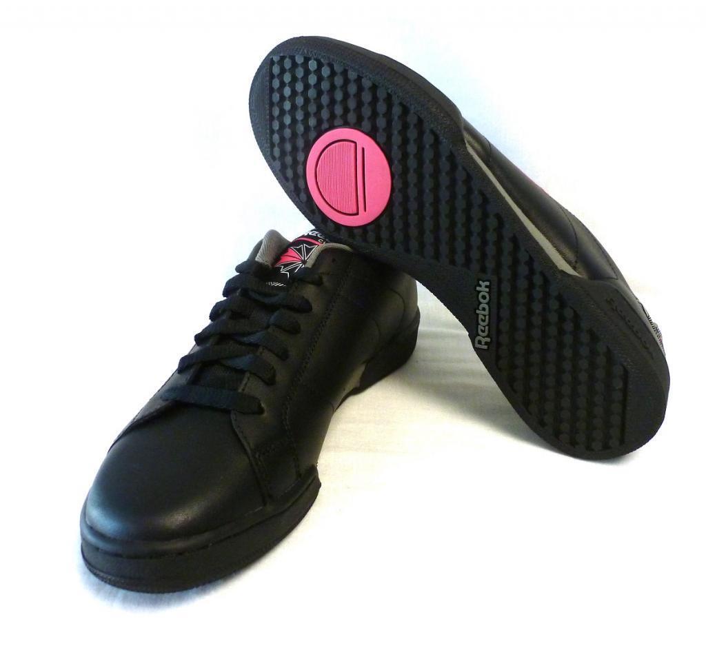 Reebok Damen Sneaker Turnschuh J92268 Gr. 39 neu Freizeitschuh schwarz schwarz schwarz grau pink f89a7b
