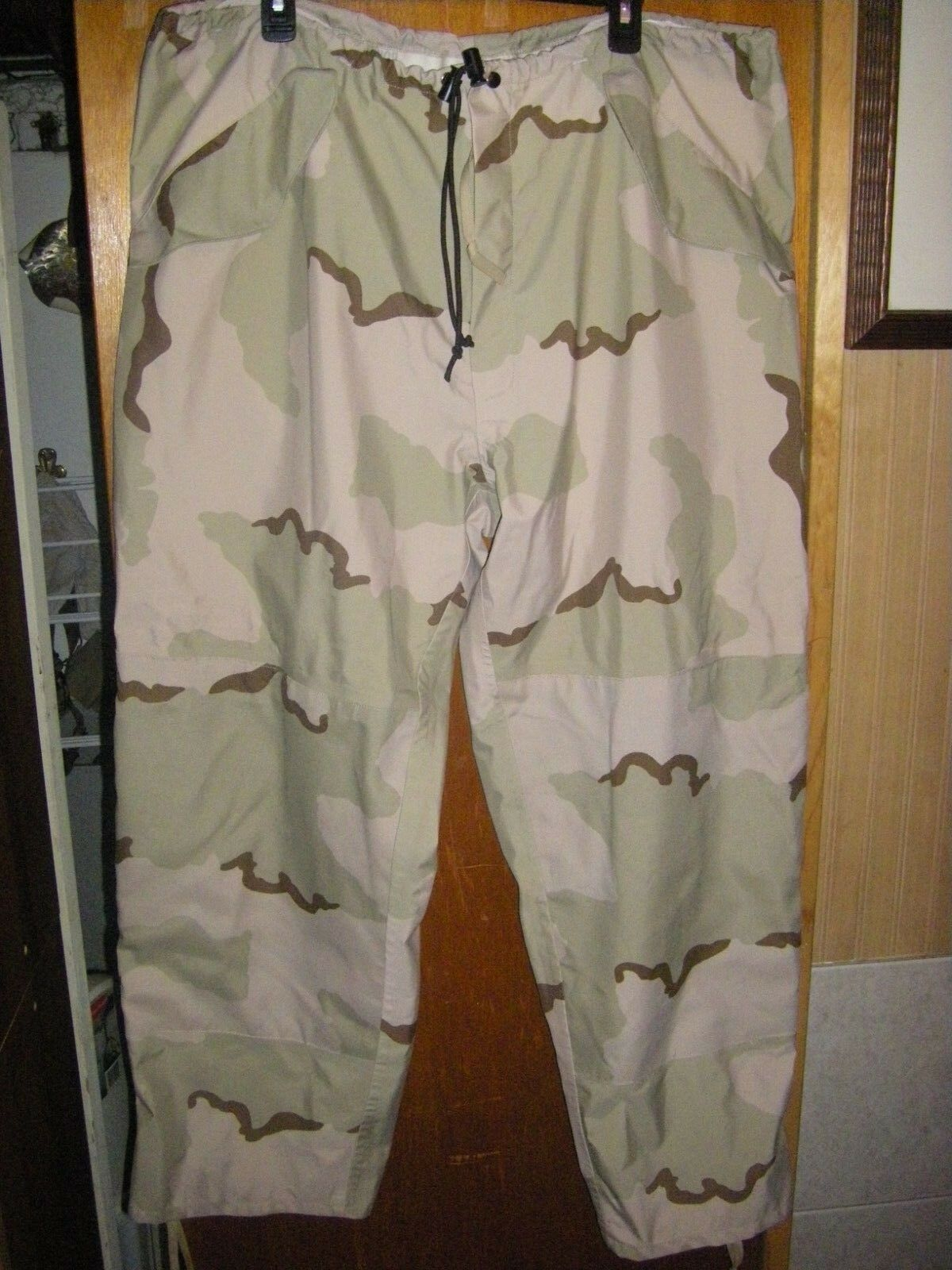 Men's Desert Camo Trousers, Extended Cold Weather Size XL  Regular