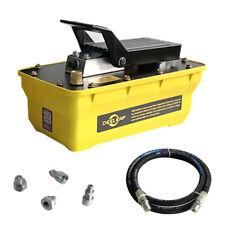 700bar 16l Air Hydraulic Pump Foot Operated Pump With 2m High Pressure Tubing